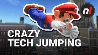 How to Do Crazy Tech Jumps & Moves in Super Mario Odyssey - dooclip.me