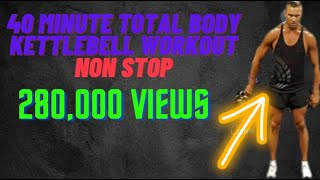 40 minute kettlebell workout by Troy van spanje