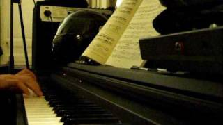 The songs that we sing Charlotte Gainbourg piano cover
