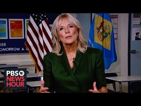 WATCH: Jill Biden's full speech at the 2020 Democratic National Convention | 2020 DNC Night 2