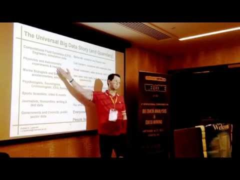 Minería de datos con visualización de datos: charla de apertura en análisis de datos masivos y minería de datos, 2016