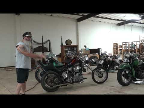 Hunting Harley's, chopper history