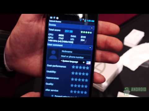 Lenovo K900 Benchmarks Intel Clover Trail+ Dual Core & Hands On
