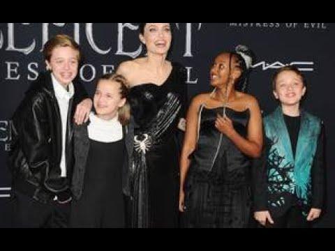 Angelina Jolie est fière de ses enfants... Kris Jenner passe en revue ses costumes d'Halloween pas