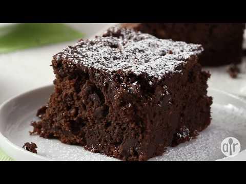 How to Make Vegan Double Chocolate Peanut Butter Banana Cake | Dessert Recipes | Allrecipes.com
