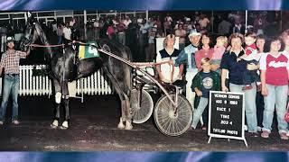 Horseman Del Richards passes