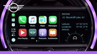 MINI USA | MINI Connected With Touchscreen | Apple CarPlay with Navigation