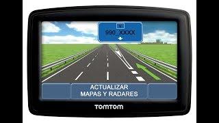Actualizar Mapas 990_XXXX Y Radares TomTom GRATIS