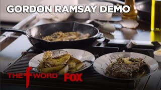 Gordon Ramsay's New York Strip Steak Recipe: Extended Version | Season 1 Ep. 4 | THE F WORD