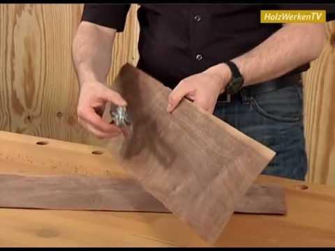 Erfolgreicher Möbelbau ohne Furnier-Risse!