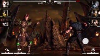 Mortal Kombat X «Игрок в кости Шиннок»  в действии