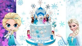 FROZEN CAKE Tutorial