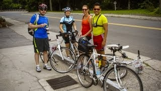 preview picture of video 'BIKING OUT ASTORIA BREWSTER TARRYTOWN'