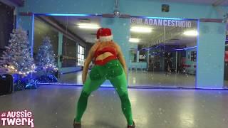 Merry TwerkMas Choreo Tutorial | DJ Snake - Bird Machine by DHQ Kris Moskov from Aussie Twerk