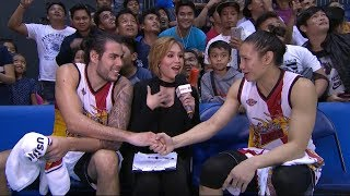 Best Players: Christian Standhardinger and Alex Cabagnot | PBA Governors' Cup 2018