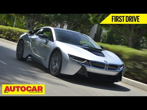 BMW i8 Hybrid Supercar | First Drive Video Review