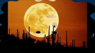 スーパームーン夜空に輝く神秘的な月2014年ver