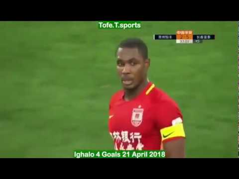 Must Watch! Odion Ighalo In Four Goal Wonder