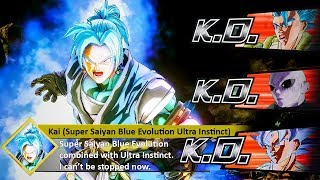 So My STRONGEST CAC Turned SUPER SAIYAN BLUE EVOLUTION While Using Ultra Instinct! Xenoverse 2 MODS