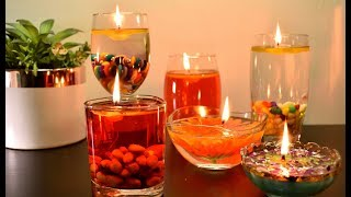 Water Candles | Home Decoration Ideas | Floating Candles| DIY Home Decor |