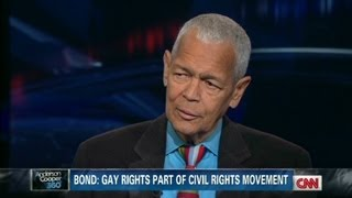 Julian Bond: Gay rights are civil rights