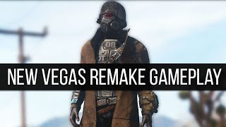Some Incredbile New Gameplay Of The Fallout: New Vegas Remake Mod