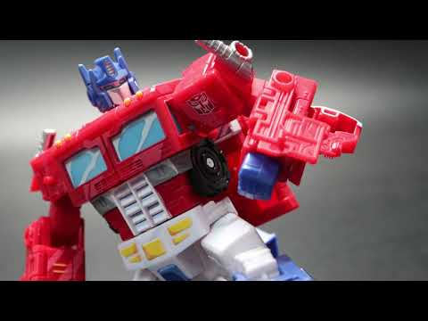 """[Unboxing] Transformers Siege 35th Anniversary """"Optimus Prime""""(Classic Animation )"""