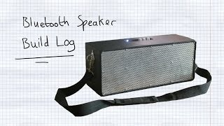 Homemade Bluetooth Boombox - Build Log