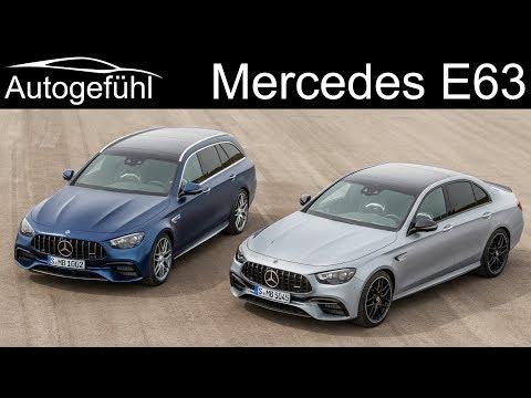 new Mercedes E63 AMG facelift 2021 Mercedes-AMG E 63 S Estate vs sedan PREVIEW