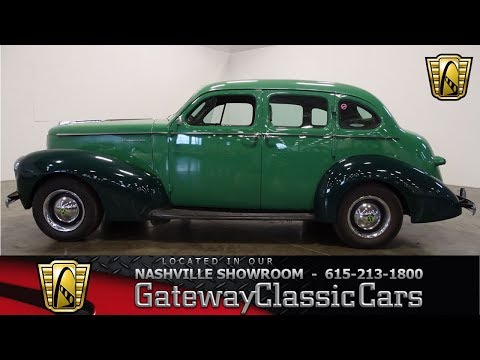 Video of Classic '39 Commander located in La Vergne Tennessee - $26,995.00 Offered by Gateway Classic Cars - Nashville - NRJE
