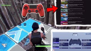 "Trying other YouTubers' ""BEST EDIT BUTTON BINDS"" on Console Fortnite"