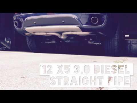 X5 35D 2 8 tune delete DPF EGR CAT - игровое видео смотреть онлайн