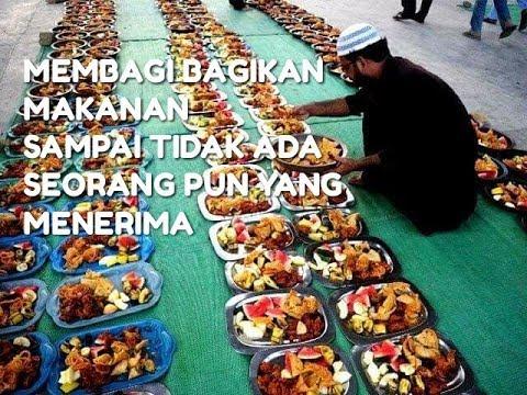 Membagi bagikan Makanan, Perintah Nabi Muhammad SAW – Mimpi Muhammad Qasim