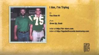 You Blew It! - I Am, I'm Trying