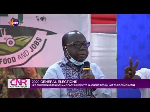 Don't be complacent – Freddie Blay to NPP parliamentary candidates in Ashanti Region