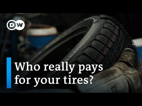 Rubber Tires - A dirty business | DW Documentary