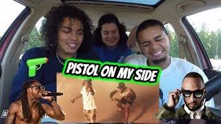 Swizz Beatz   Pistol On My Side (P.O.M.S) Ft. Lil Wayne (REACTION REVIEW)