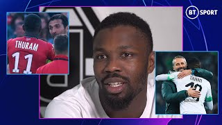 Marcus Thuram   World Cup winning dad, playing with Messi as a kid, and taking on Gigi Buffon