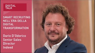 Youtube: Dario D'Odorico, Senior Director Italy | Indeed | Digital Talk