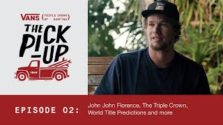 John Florence & the great Australian road-trip + Triple Crown & World Title Predictions
