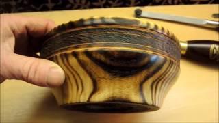 Tokar Art 17 Woodturning Spiral On Fire