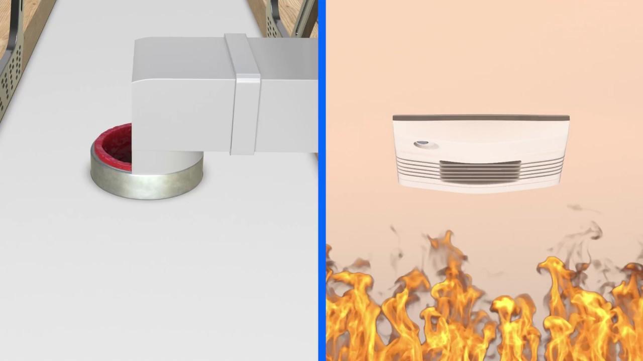 Ceiling Fan Fire Stop Tenmat Fire Protection Solutions
