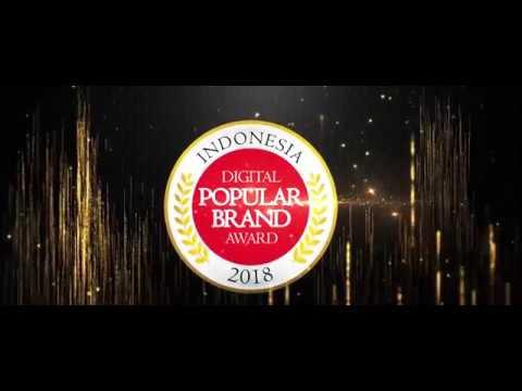 Indonesia Digital Popular Brand Award 2018 - BAF