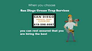 San Diego Grease Trap Cleaning   619-598-0087