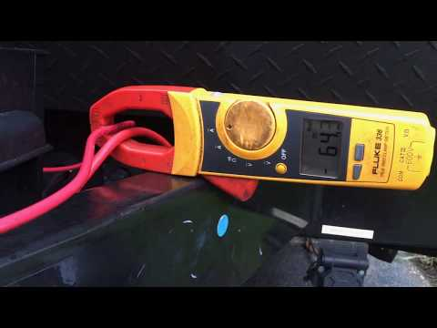 WFCO 8955 pec amp test 14.4 volts bulk mode. 2018 coachman