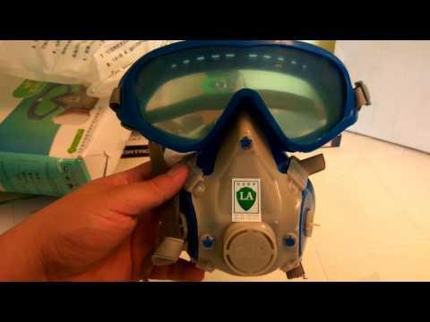 `Mejor Mascara de trabajo Anti Polvo y Gases