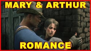 Red Dead Redemption 2: Arthur & Mary Romance Scenes