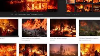 California Stroms Equal Devastating California Wildfires