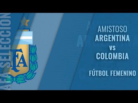 Argentina vs Colombia - Futbol Femenino Sub 17 - Amistoso