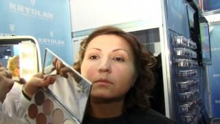 ролик, Камуфлирующий макияж